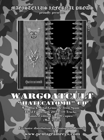 Wargoatcult portada hate